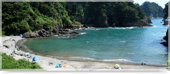 ニュー銀水のつば沢ビーチ
