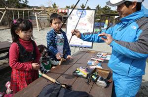 ルネッサンスリゾートナルトの釣り教室