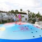 ホテルモントレ沖縄のバブルヒルプール