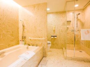 ホテルオークラ東京ベイのお風呂