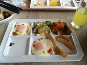 ホテルモントレの朝食