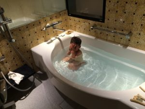 ホテルモントレのお風呂