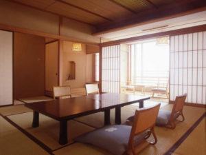 ホテル花水木本館の部屋