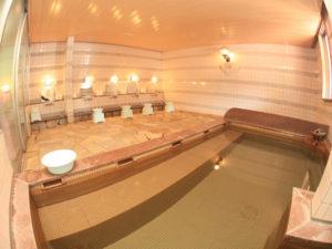 ばしゃ山村の大浴場