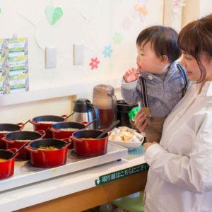 グリーンプラザ軽井沢の離乳食