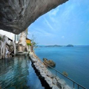 ホテル観洋の露天風呂