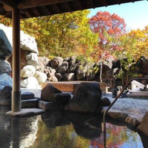 グリーンプラザ軽井沢の露天風呂