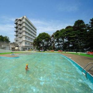 ホテル観洋のプール
