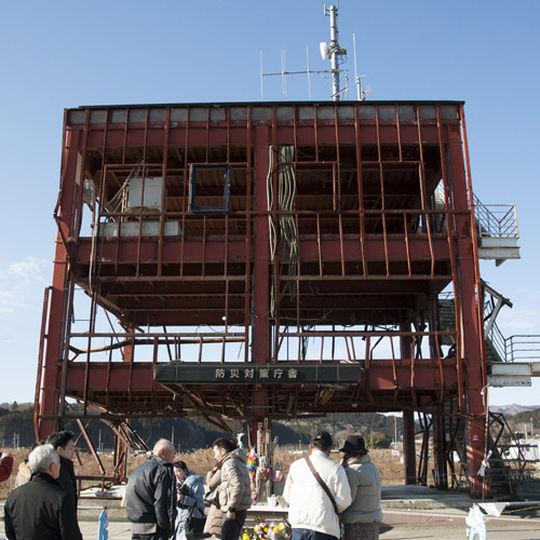 ホテル観洋の防災対策庁舎後