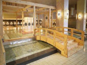 箕面観光ホテルの大浴場