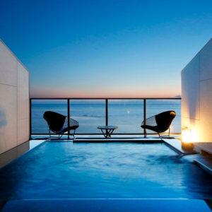 南風楼の露天風呂付客室