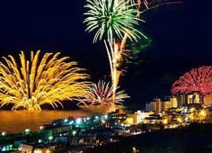 洞爺サンパレスの花火