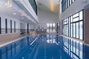 ホテルハーヴェストスキージャム勝山のプール