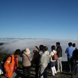 山本小屋ふる里館の雲海2