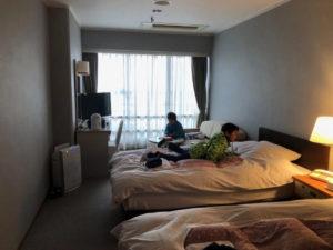 箕面観光ホテルの部屋