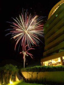 指宿いわさきホテルの花火