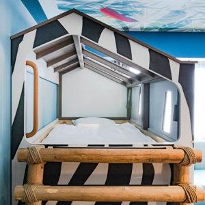 ロイヤルホテル那須の部屋のベッド