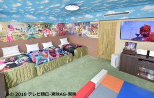 東京ドームホテルのヒーローのお部屋