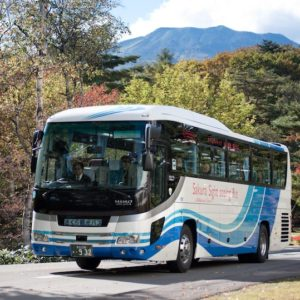 ホテルヴィレッジのバス