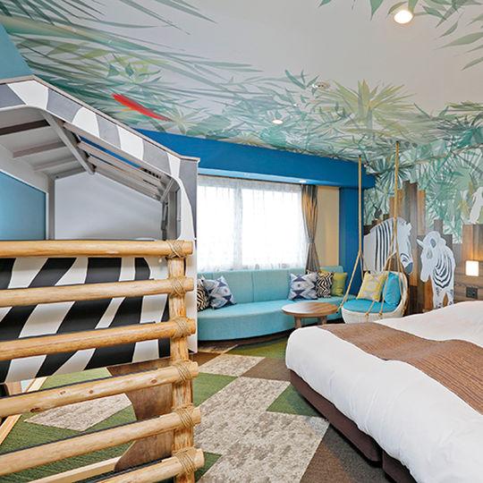 ロイヤルホテル那須のサファリキッズルーム