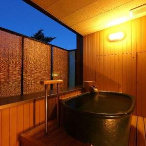 ホテル櫻井の露天風呂付客室