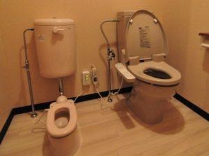 草津温泉ゆたかのトイレ