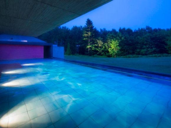 星野リゾートトマムの露天風呂