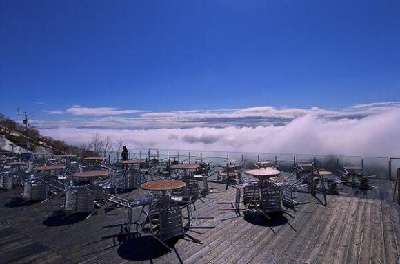 星野リゾートトマムの雲海テラス
