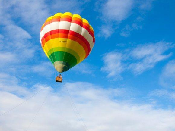 星野リゾートトマムの熱気球