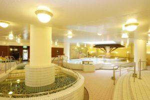 ガトーキングダムの温泉