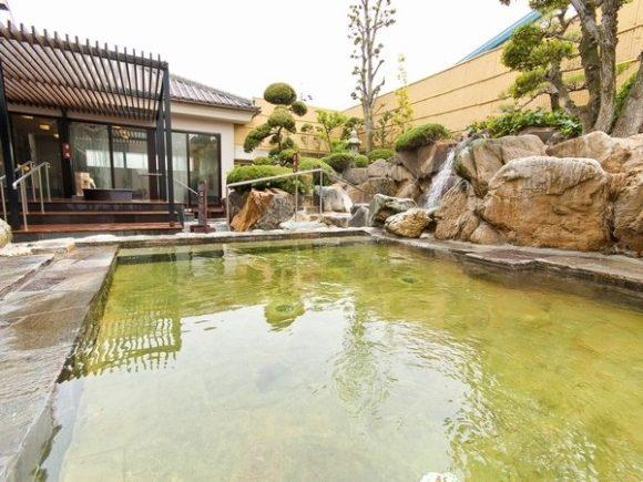 奈良健康ランドの温泉