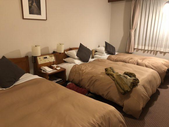 倉敷国際ホテル、アネックス館のツインルーム