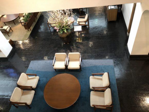 倉敷国際ホテルのロビー2