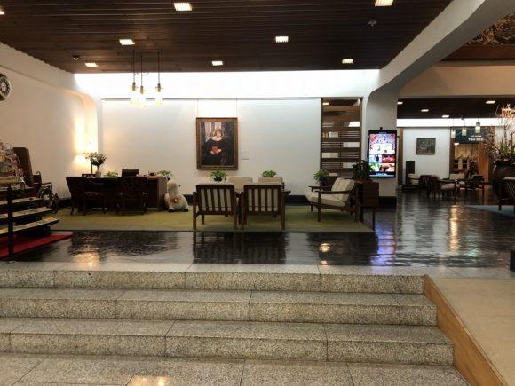 倉敷国際ホテルのロビー