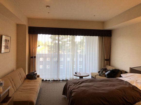 鈴鹿サーキットホテルのメイン館の部屋