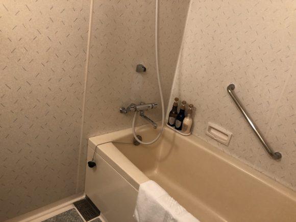 メイン館ツインルームのバスルーム