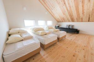 GRAXHANARE京都るり渓の寝室