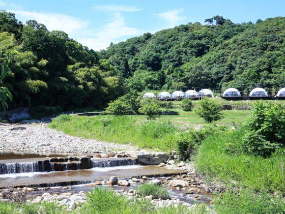 グランドーム京都天橋立の横の川